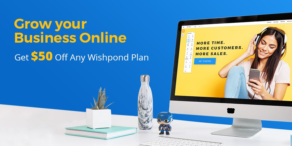 Wishpond - Get $50 Off Any Wishpond Plan