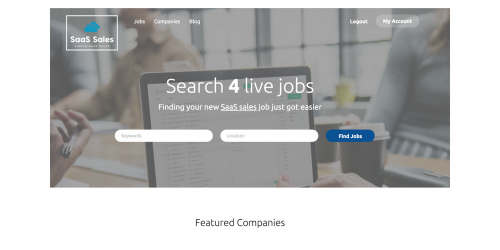 SaaS Sales - FREE Unlimited Job Ads for 1 Year