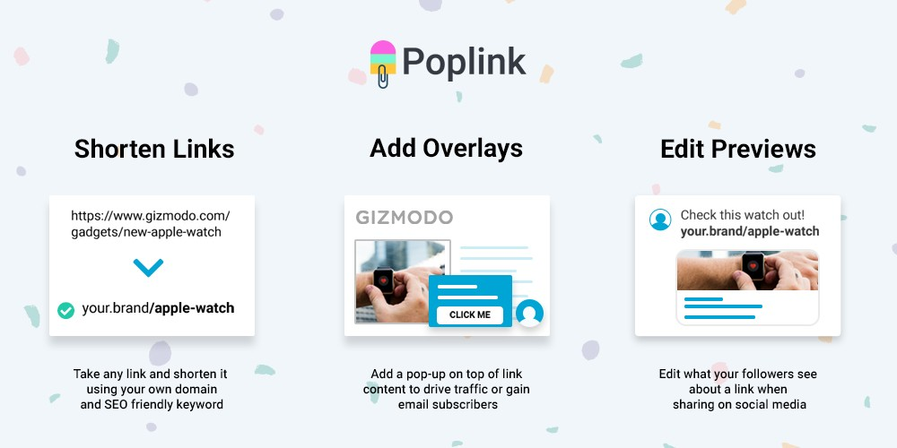 Poplink - 50% Off Any Plan for Life