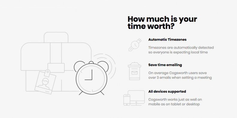 Cogsworth Smart Scheduling - 50% Off