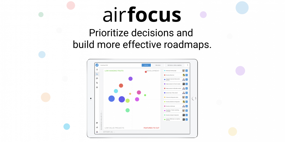 airfocus.io - 33% Off for 1 Year