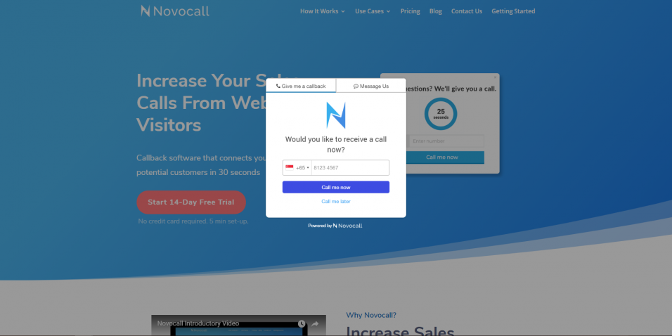 Novocall - 30% Off for 1 Year
